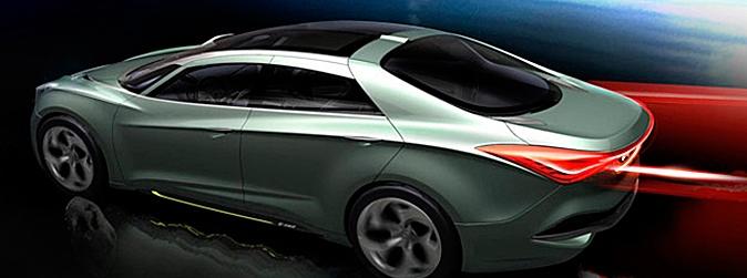 Coche del futuro Hyundai con NFC