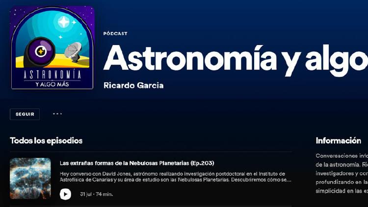 podcast astronomia