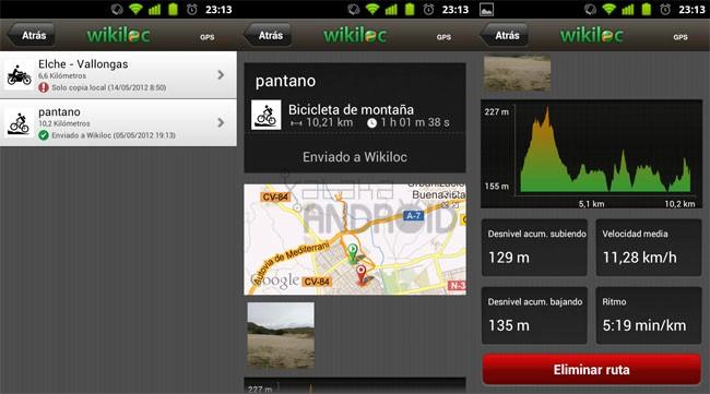 App para hacer rutas en bici | app bici