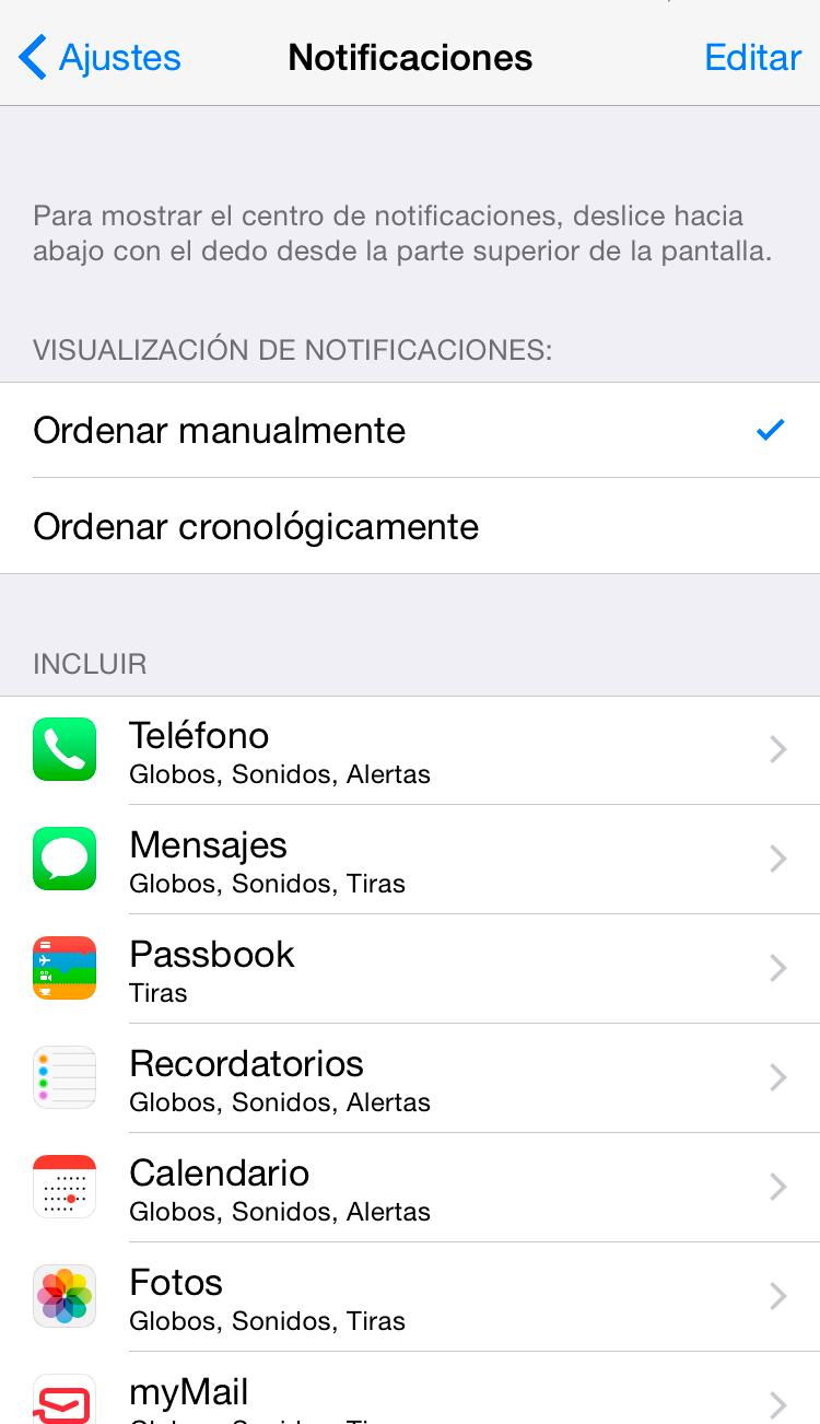 Ahorra batería en tu iPhone con estos consejos | Centro de notificaicones