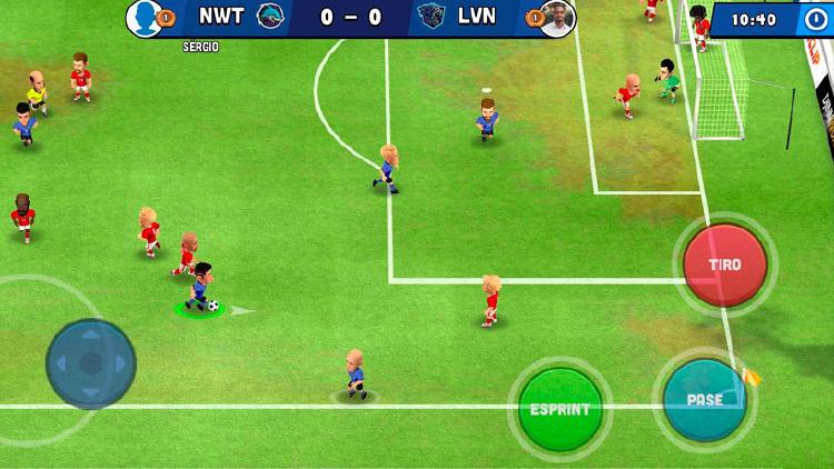 juego mini football movil