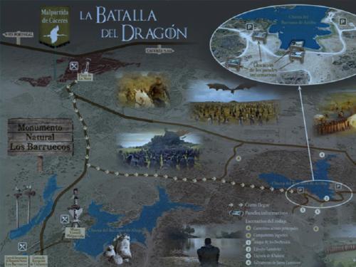 Batalla del Dragón Cáceres