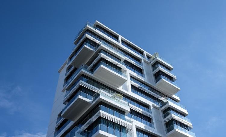 Vista de un edificio
