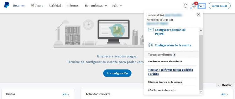 PayPal para empresas