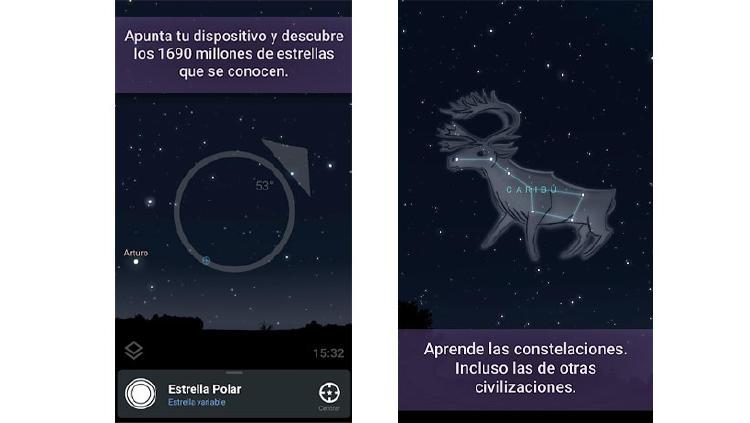 app estrellas constelaciones