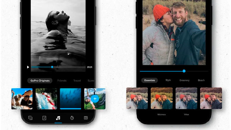 editar videos fotos gopro