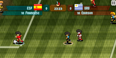 juego de fútbol para móvil |Pixel cup soccer