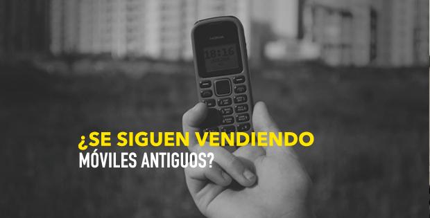 ¿Se siguen vendiendo móviles antiguos?