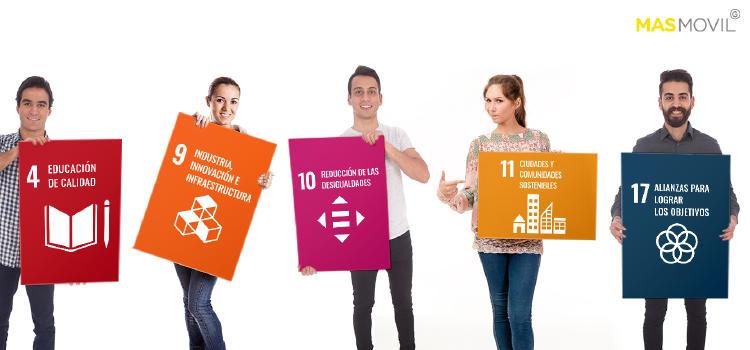 MASMOVIL Principios del Pacto Mundial ODS