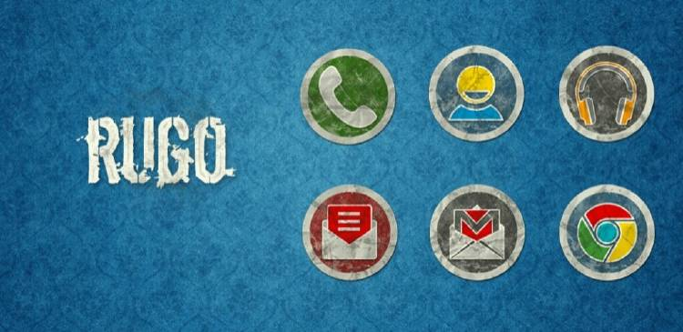 iconos móvil | 1 rugo