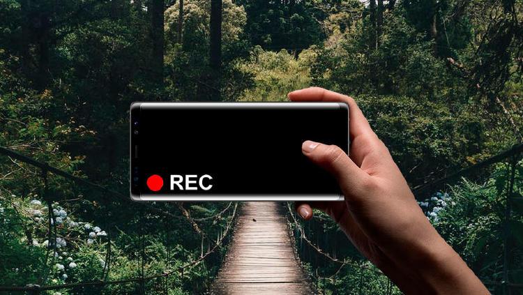 grabar movil pantalla apagada