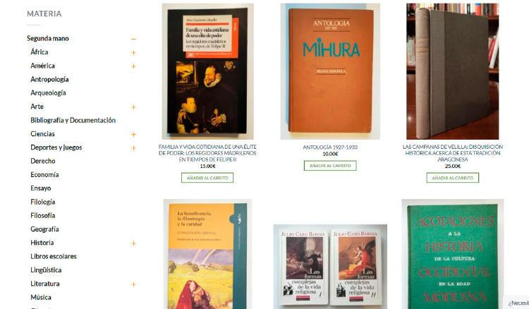 libros usados antiguos