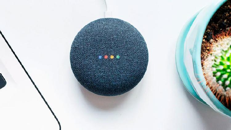 altavoz inteligente google nest mini