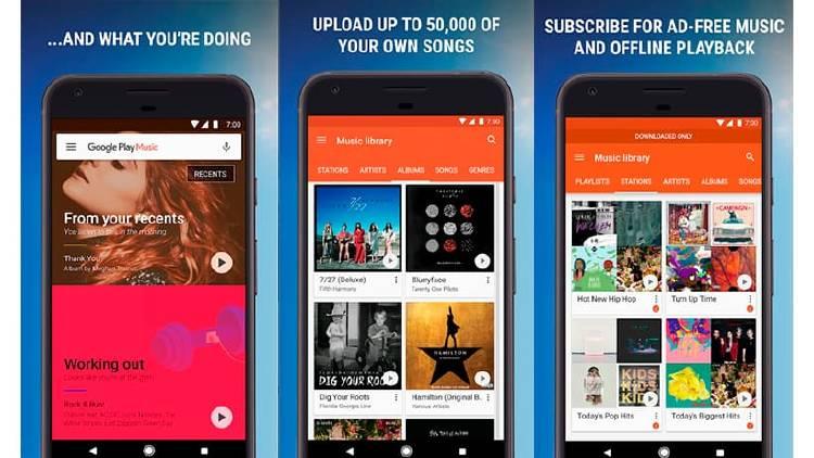 Mejores apps para escuchar música sin conexión a Internet