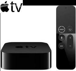 Decodificador Apple TV para Agile TV