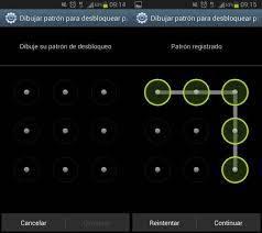 Cómo blindar tu smartphone | patron de desbloqueo