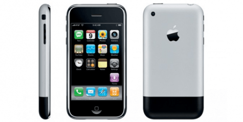 historía telefonía móvil - iPhone 1 primera generación