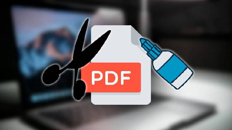unir separar PDF online