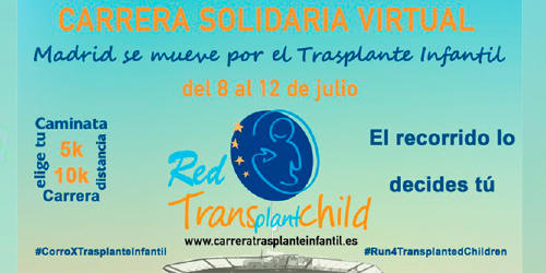 II Carrera Solidaria Virtual TransplantChild 2