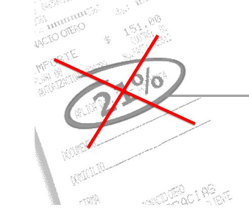 NO 21% IVA