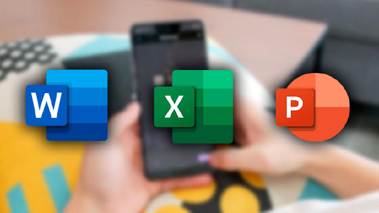 word excel powerpoint android