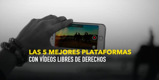 Top 5 Las mejores plataformas con vídeos libres de derechos