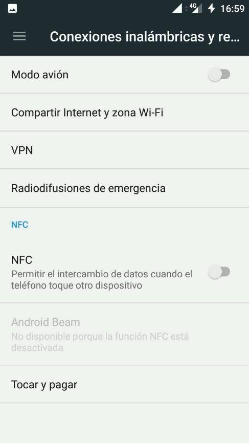 pasos para compartir Internet en Android