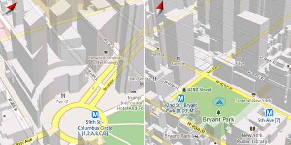 truco inclinacion en google maps