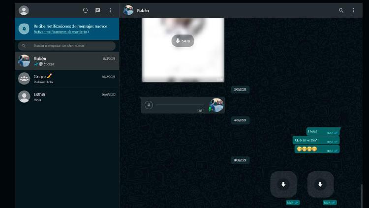 videollamadas whatsapp web