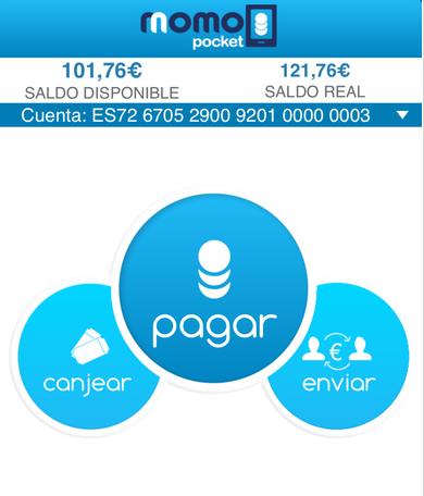 app para pagar momo poket