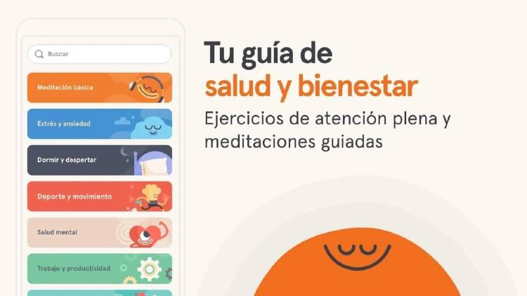 Apps meditación y sueño