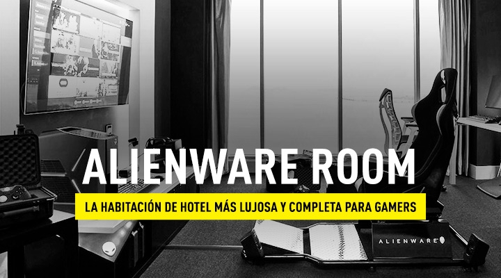 Habitación gamers: Alienware Room