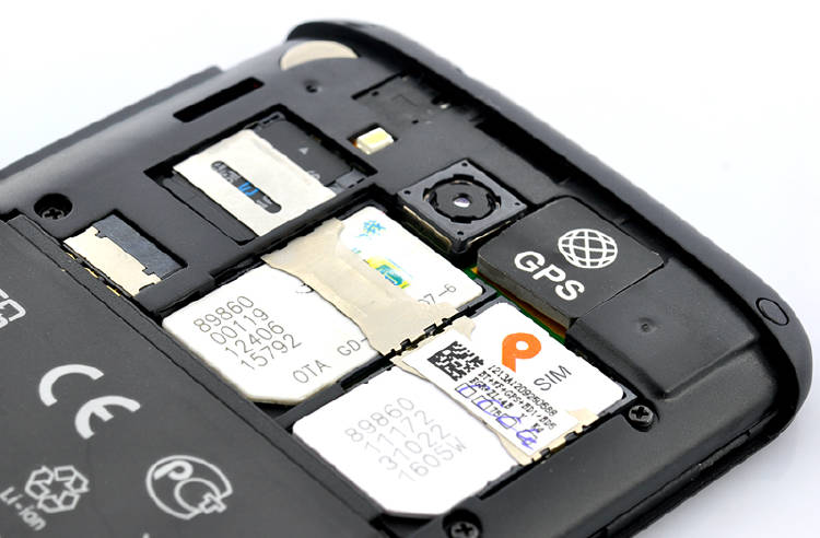 móvil con dos tarjetas SIM