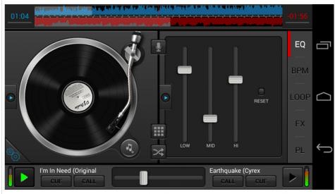 appz mezclar musica