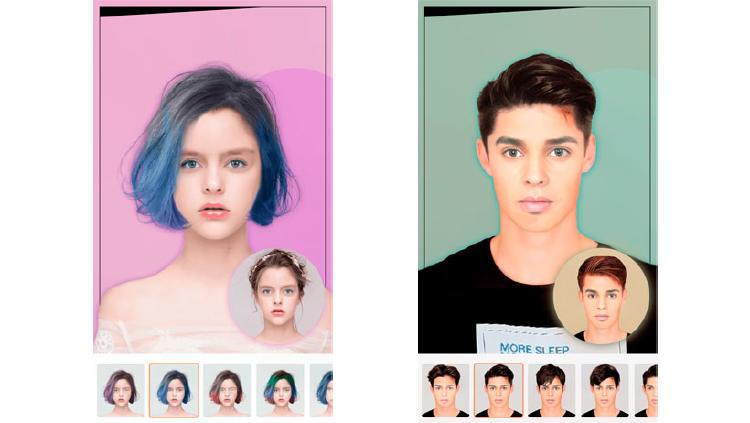 app probar cortes de pelo