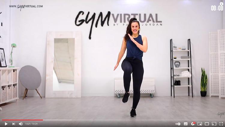 gym virtual entrenamiento youtube