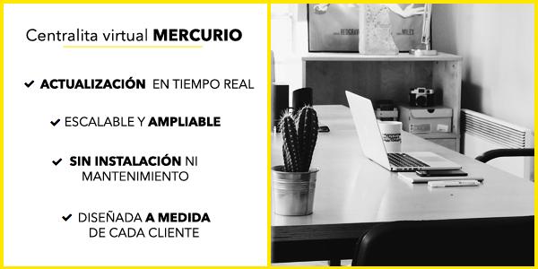 Servicios Mercurio y MÁSPACK de MÁSMÓVIL Empresas