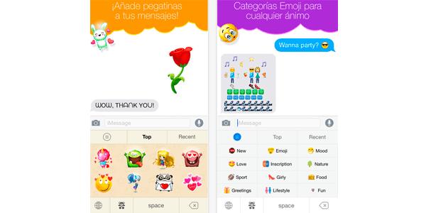 teclas emoji app