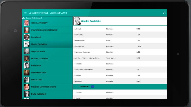 App para docentes | cuaderno de profesor ipad
