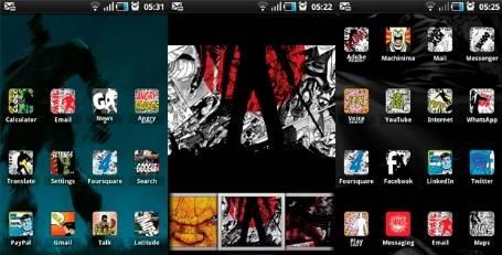 iconos móvil | 1 comic book