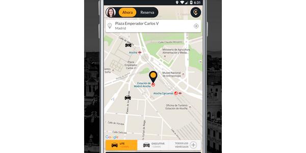coches cabify | empresa de coches con conductor