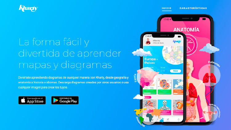 kharty app aprender estudiar