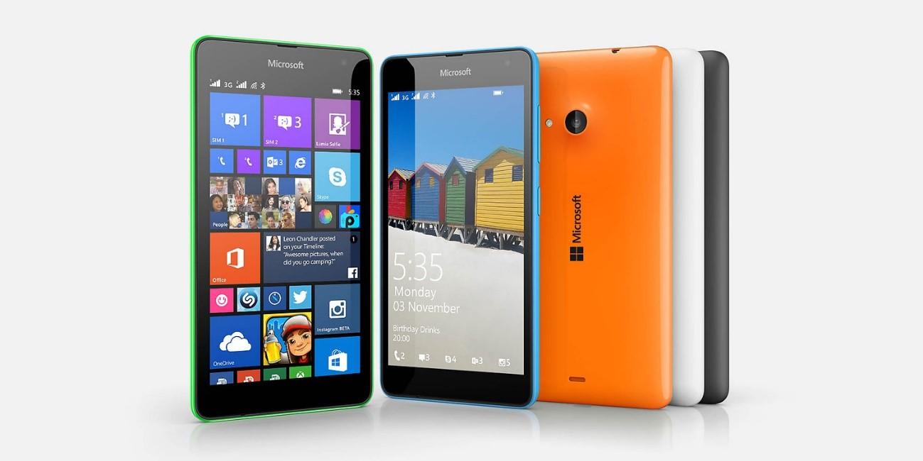 smartphone sencillo   Microsoft Lumia 535