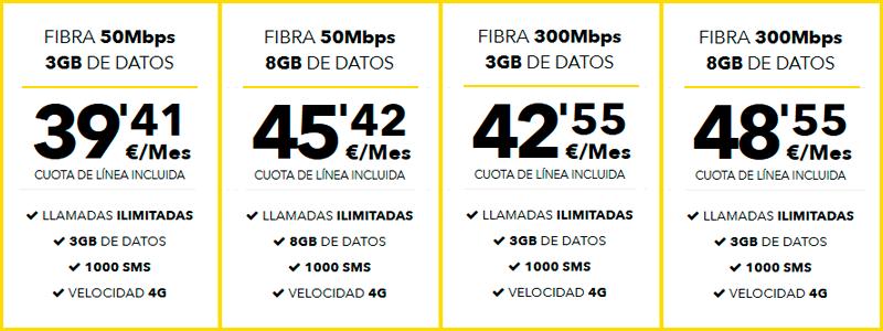 las mejores tarifas de internet y telefono para empresas