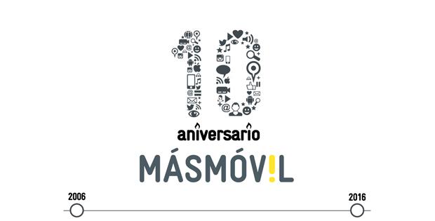 MÁSMÓVIL cumple 10 años