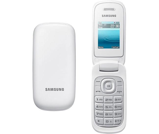 móvil con tapa para mayores   Samsung GT-E1270