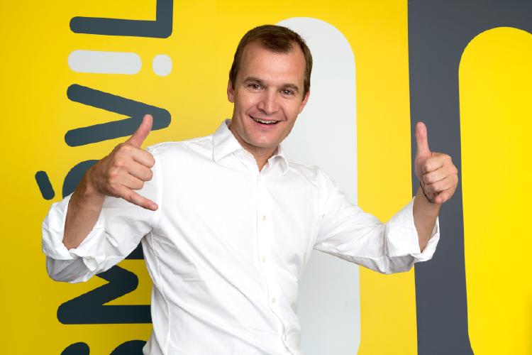 CEO MÁSMÓVIL Meinrad Spenger