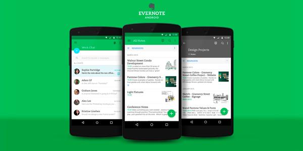 evernote   apps emprendedores