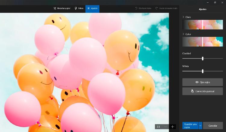 editar fotos windows 10