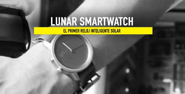 Lunar reloj solar